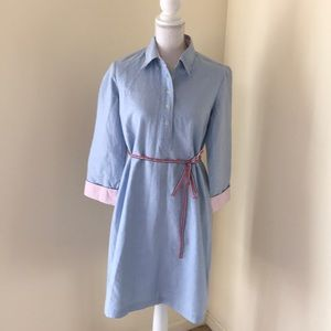 MIMI MATERNITY Size S chambray tunic dress